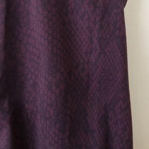 Aritzia Tops - Purple snake print tank, T. Babaton, XS